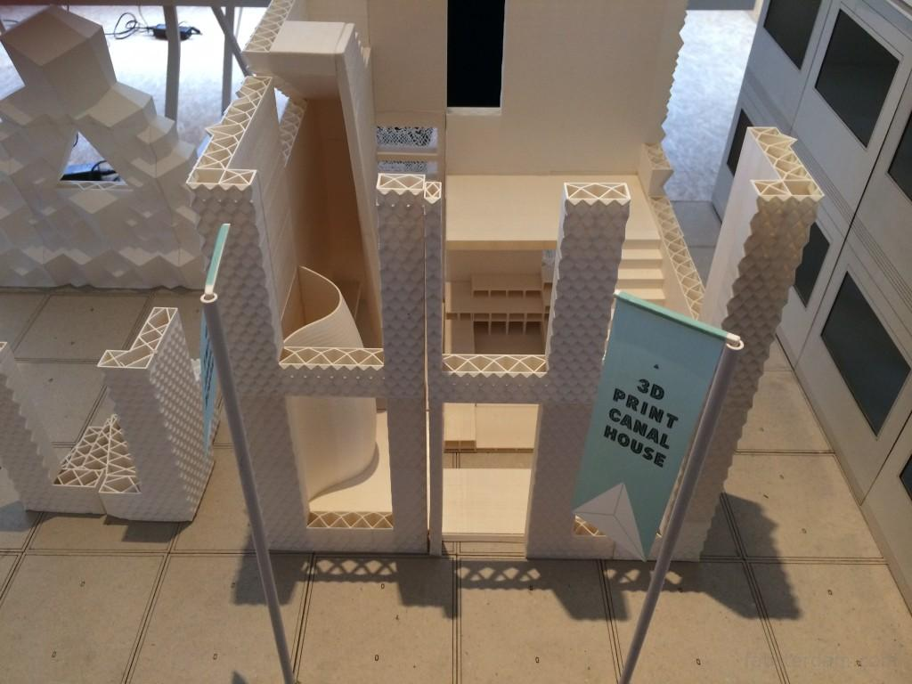 details of the model of the house