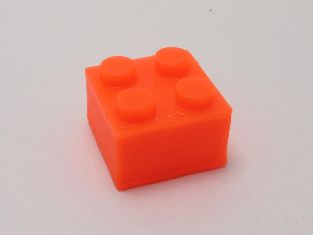 Smooth PLA brick